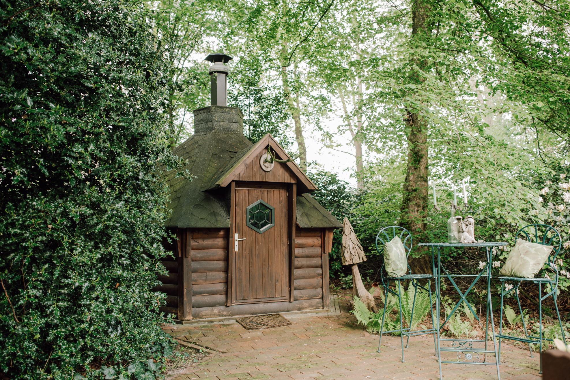 Finnische Kotahütte